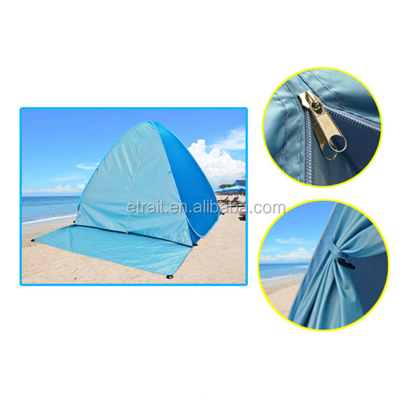 2017 new auto quick pop up family outdoor hiking 2-3 persons inflatable folding bed camping tent