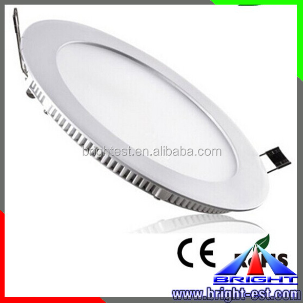 200leds/m High Brightness Smd 3014 Led Light , dimmable Round Panel Led Light