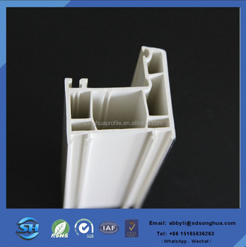 Plastic window profile China factory directly supply