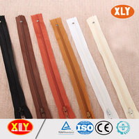 shenzhen xly wholesale fancy ykk color coil nylon zipper
