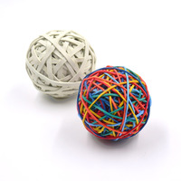 Wholesale colorful rubber band ball for supermaket