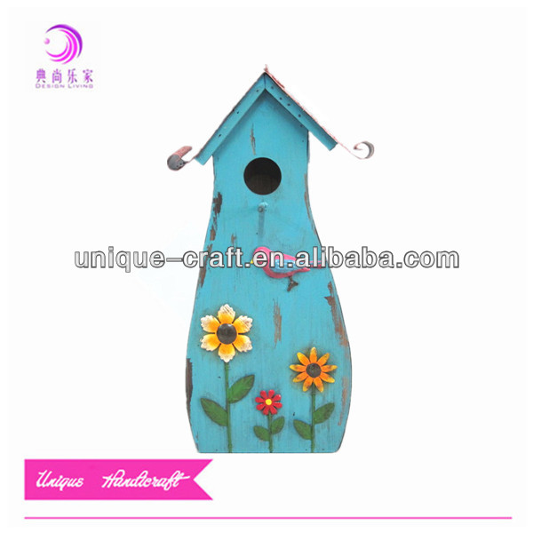flower bird garden wooden cheap bird houses bird house decoration birdcage decorative pet house