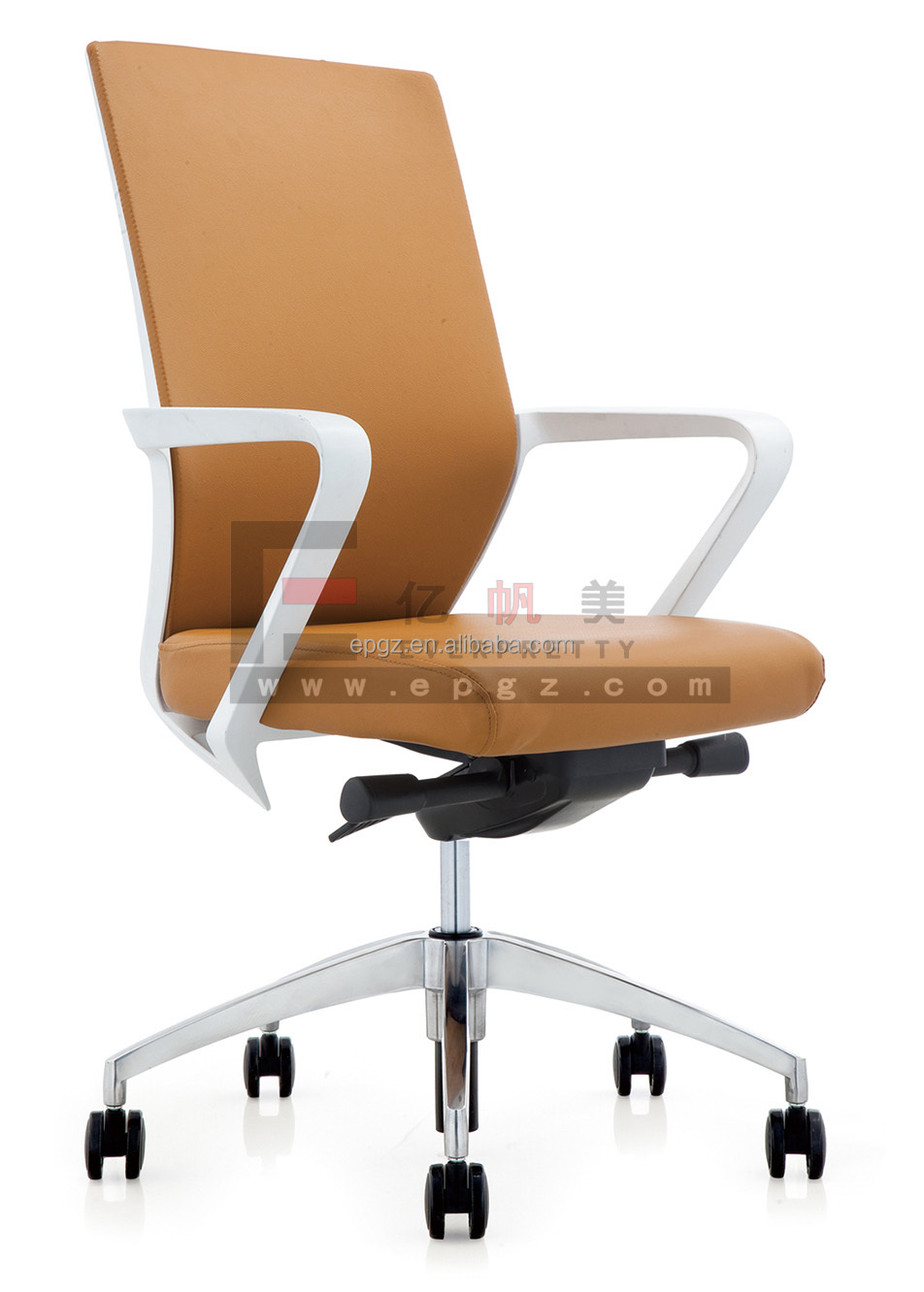 Heavy Duty Industrial Chairs, Office Chair with Plastic Armrest, Office Chairs with Adjustable Lumbar Support