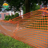 HDPE Plastic Reinforced Plain Flat Wire Mesh Traffic Safety Fence Plastic Mesh and Guarding Mesh