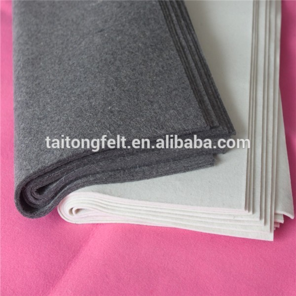 2mm wool felt for sauna cap. 100% wool fabric for wholesale