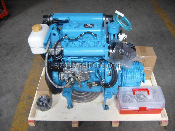 Compact size light weight hf 380m inboard boat engines for for Lightweight outboard motors for sale