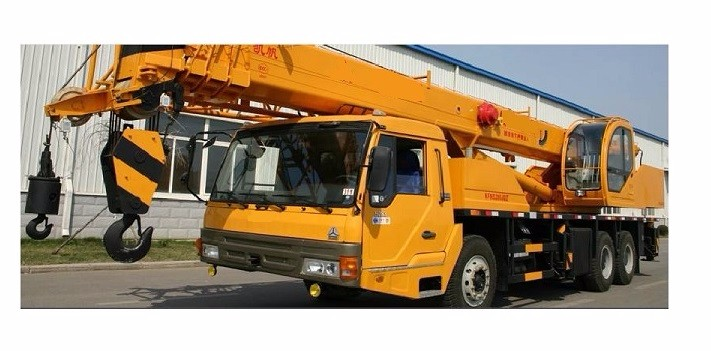 China Manufacture SINOTRUK Truck Mobile Crane 50 Ton