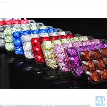 2014 Wholesale Mobile Rhinestone Phone Case Cover for iPhone 5 5S P-IPH5HC081