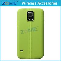 Free Samples New Arrival Wholesale Leather Grain Pattern TPU Phone Cases For Samsung Galaxy S5