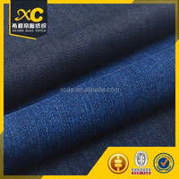 china sale cotton polyester denim fabric leather jacket