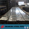 strcture steel ! 3mm gi square tube pre-galvanized rectangular pipe and tube