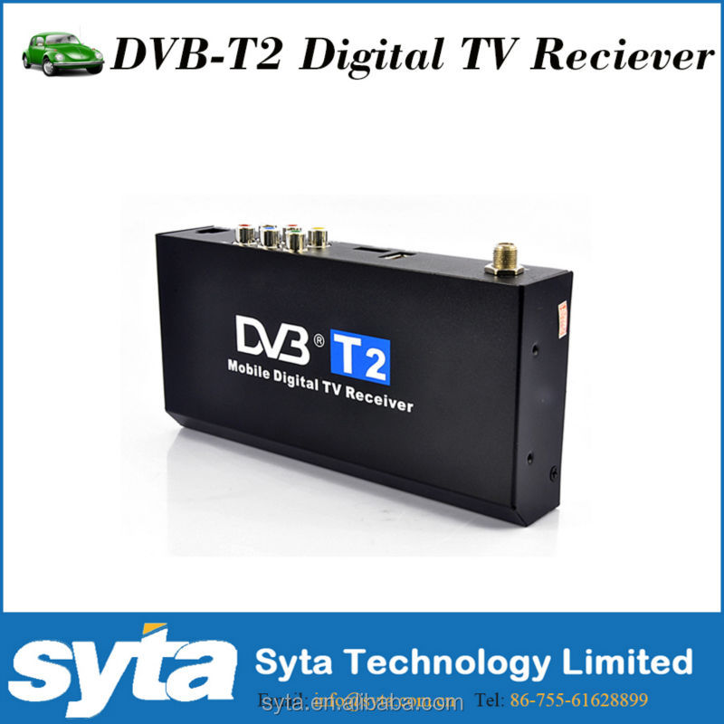 Thailand mobile digital car dvb-t2 tv receiver set top box dvb t2 support to 7 days Electronic Program Guide