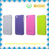 made in china transparent plastic cover case for i5s
