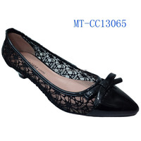 Most Comfort Black Office Ladies Shoe Woman
