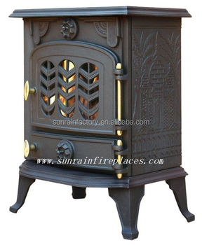 classic cast iron woodburning stove(JA012)