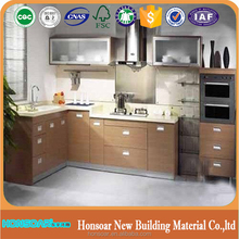 mdf wood panel production line kitchen cabinet