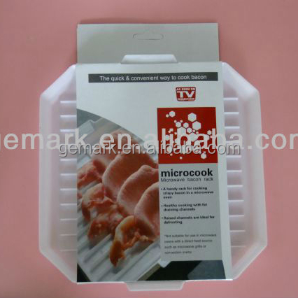 kitchen tools microwave bacon cooker