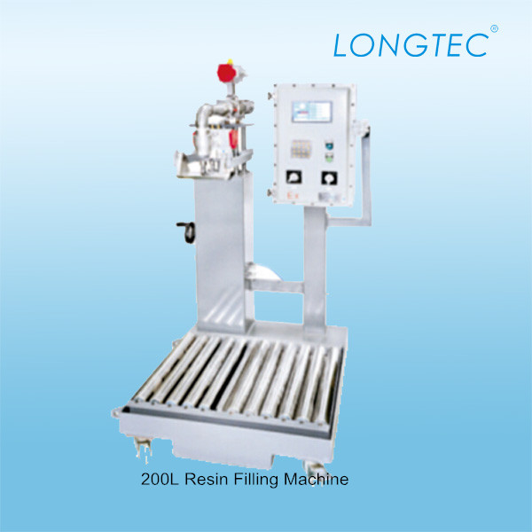 Automatic liquid weighing filling machine