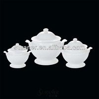 turkey style ceramic soup tureen