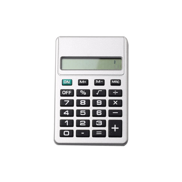 8 Digits Small Size Pocket Calculator with Button Battery
