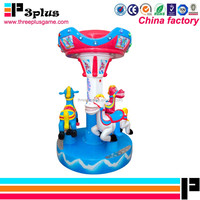 Children indoor playground carousel amusement game machine sale amusement park rides