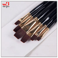 BGN-706A Bergino superior quality watercolor painting artist brushes wholesale