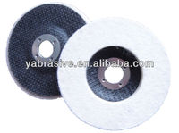 100%wool hard glass polishing wool felt wheel/ abrasive felt wheel