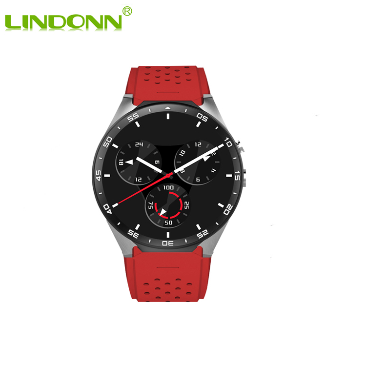 Smartwatch For <strong>Apple</strong> And Android Smartwatch Manual KW88 Smartwatch For Senior 3G Wifi Smart Watch