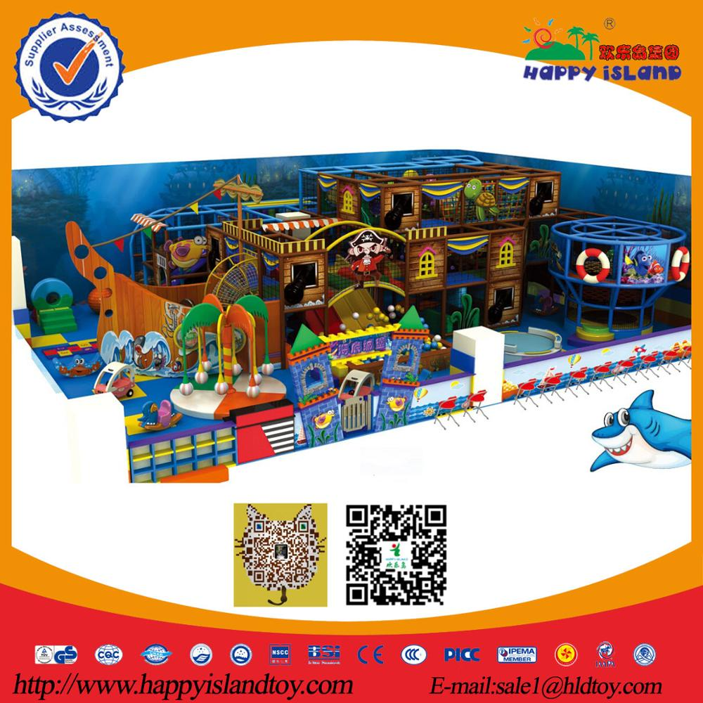 Kid Indoor Soft Playground,Children Play Equipment,Indoor Kids Playhouse Furniture HE-7402