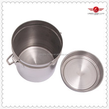 new arrival single wall stainless steel ice bucket