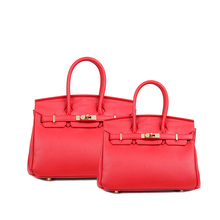 bulk buy china bag factory leather ladies basical red pineapple tote bag