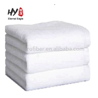 Hotel quality white bath towels 650 gsm 100% cotton pack set