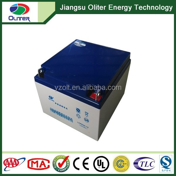 Deep Cycle good quality AGM VRLA 12volt solar battery