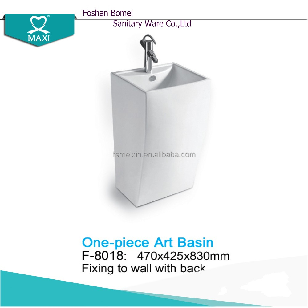 F-8018 Good quality small wash hand basin sets for bathroom uk
