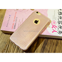 Ultrathin High Quality Translucent 3d Star Shining Silicone TPU Mobile Phone Case for iPhone 6 4.7' Mobile Accessory