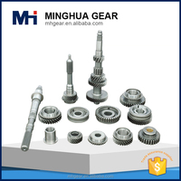 customized light bus transmission metal flat face spur gear
