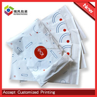 Customized printed resealable poly mailer bags for shipping clothing