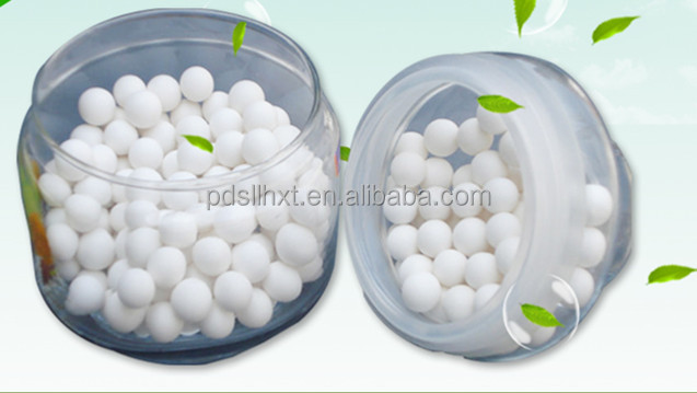 Activated aluminium oxide ball for sorbent for hydrogen peroxide