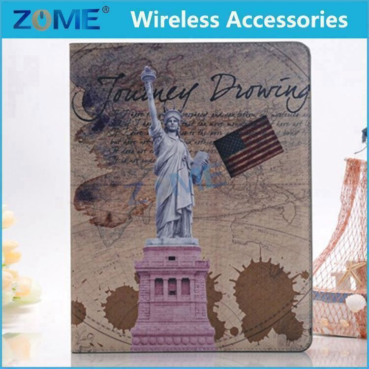 High-end Hot Selling Durable and Long Lasting New for ipad Enelop PU Leather Wallet Case
