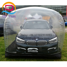 5.5*2*2m Luxury car show tent / dustproof Inflatable car cover Mobile garage