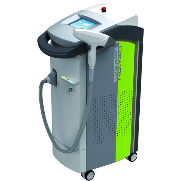 Most professional hospital equipment 1064nm Long pulse nd yag laser hair removal vascular vein removal by shanghai med apolo