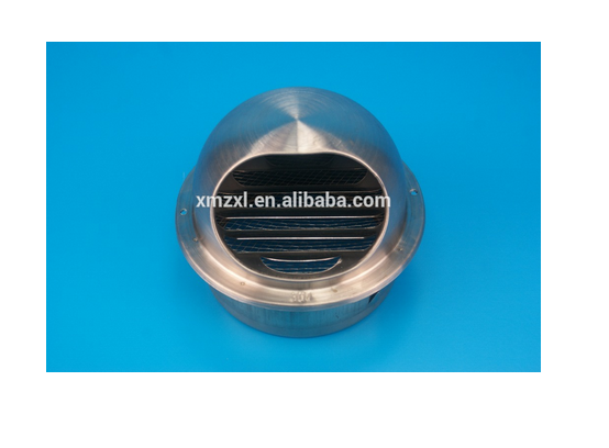 roof ventilator stainless steel wall air conditioner air vent cap
