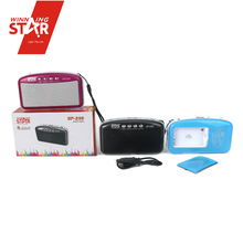 fm radio mini digital sound box speaker