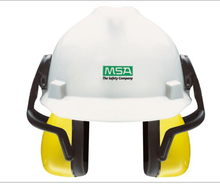 European Style MSA Brand V Gard Safety Helmet With Earmuff