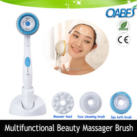 Electric Vibrating Facial Massager cleaner electric massage brush