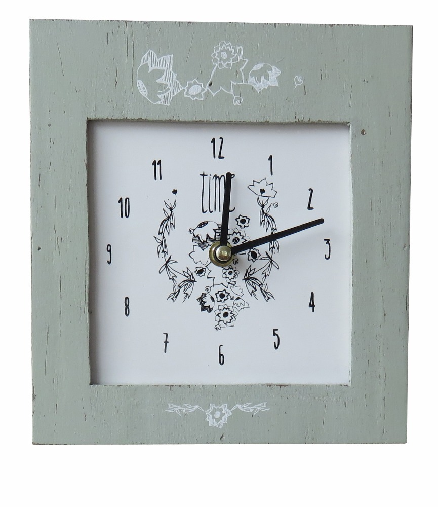 164JC111 Custom wood wall clock for Home decorative wood wall clock Home goods wall clocks