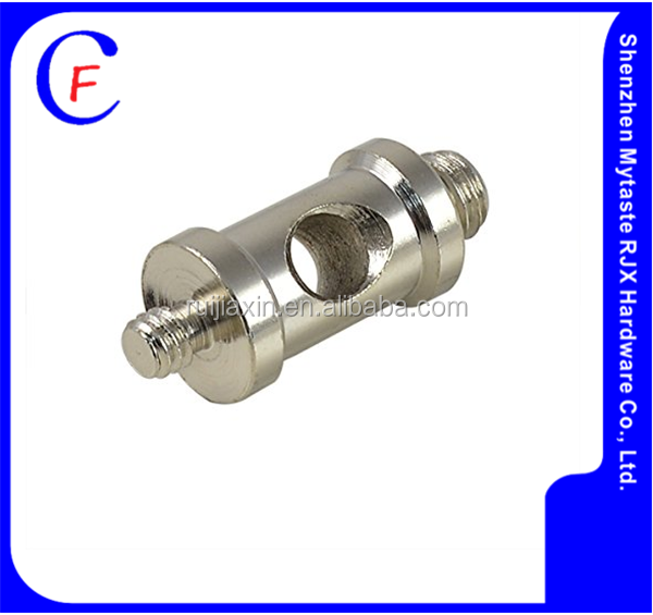 Custom brass pipe fitting Double-end for Double threaded joint,Two-end Male /female thread Adapter/Joint