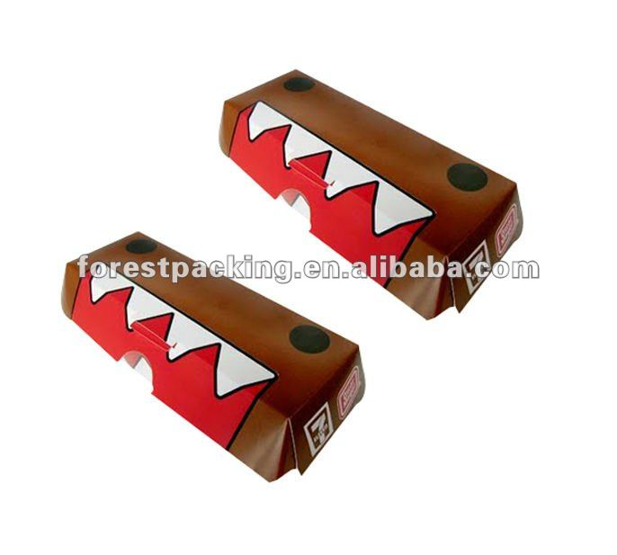 hot dog cardboard box