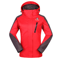 Wholesale Men and Women Waterproof Hiking Jackets Ski Jackets Outdoor Winter Jacket