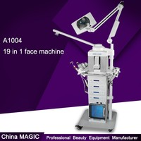 Beauty Salon Equipment Skin Care Whitening A1004 19 in 1 Multifunction Hydra Water Facial Machine
